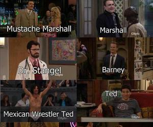 barney, robin, and TED image