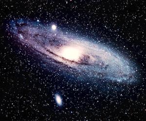 galaxy, stars, and universe image