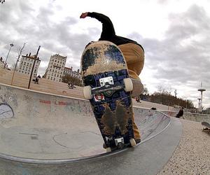 skate, photography, and skateboard image