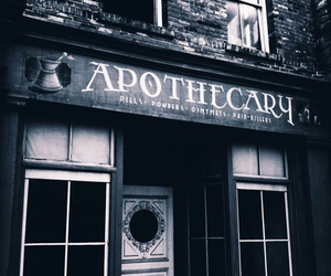 apothecary, pills, and b&w image