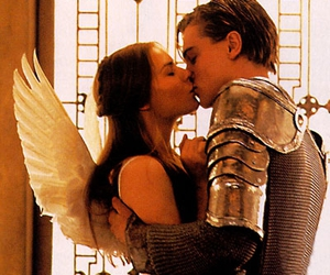 leonardo dicaprio, kiss, and romeo and juliet image