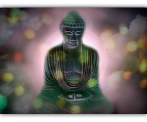 Buddha, enlightenment, and psychology image