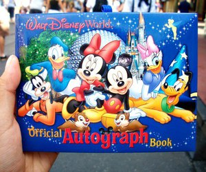 autograph, daisy, and disney image