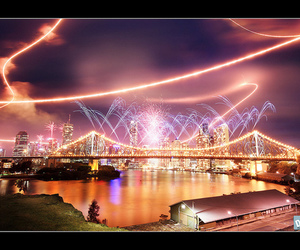 brisbane, city, and color image