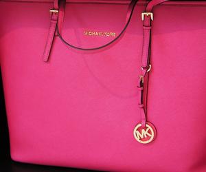 bag, pink, and Michael Kors image