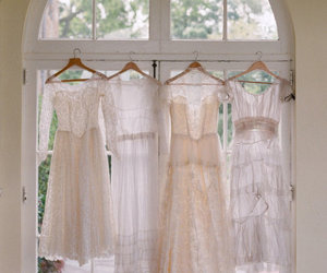 dresses, light, and lace image