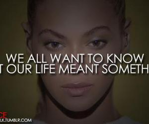 quote, beyoncé, and life image