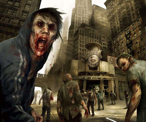 thunderbolt, wallpapers zombie, and thunderbolt art image