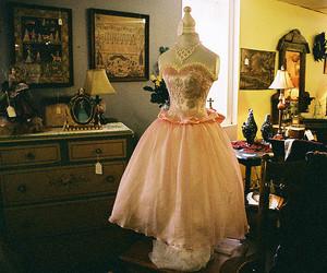 dress, vintage, and fashion image