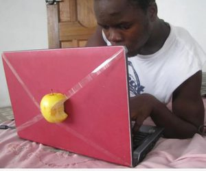 apple, funny, and lol image