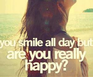 quote, smile, and happy image