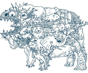 animal, animals, and illustration image