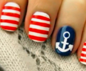 nails, red, and anchor image