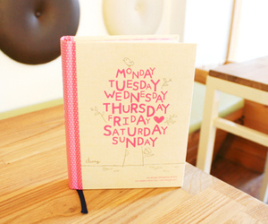 book, cute, and diary image