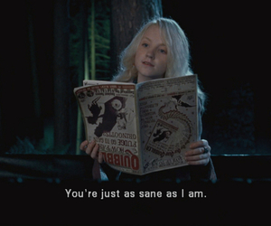 harry potter, luna lovegood, and quotes image