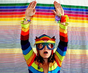 color, gay, and self-portrait image