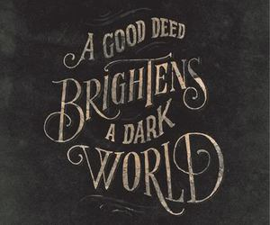 quotes, world, and dark image