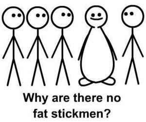 fat, funny, and stickmen image