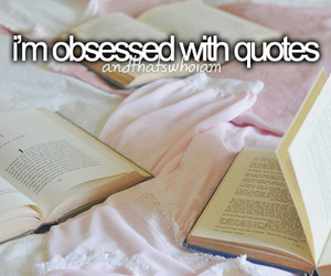 quotes, book, and obsessed image
