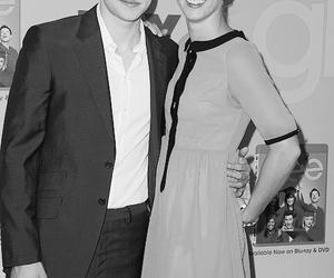 black and white, heather morris, and chord ovestreet image