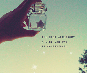 confidence, girl, and stars image
