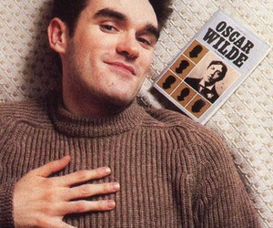morrissey, oscar wilde, and the smiths image