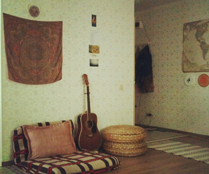 guitar, photography, and room image
