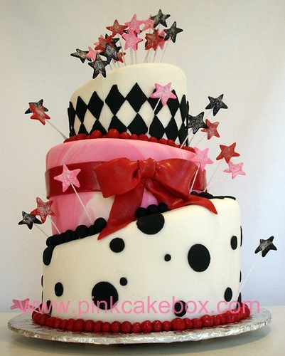 cake, stars, and food image