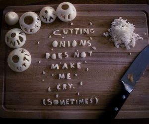 onion, text, and cry image