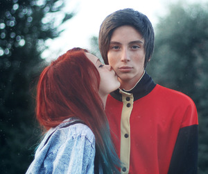love and red hair image