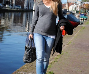 maternity clothes, pregnancy, and pregnant image