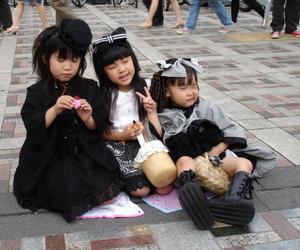 gothic lolita, kids, and japan image