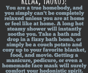relax, taurus, and zodiac image