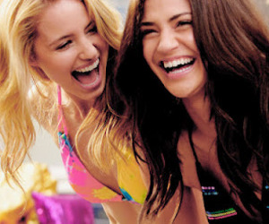girl, friends, and dianna agron image