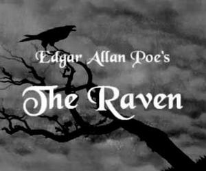 edgar allan poe, the raven, and Darkness image