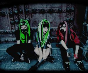 cyber goth, cyber girl, and cyber boy image