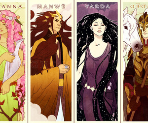 tolkien and valar image