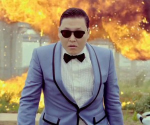 awsome, gangnam style, and psy image