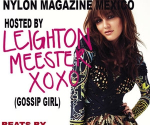 blair, leighton meester, and mexico image