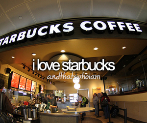 thats who i am and starbucks coffee image