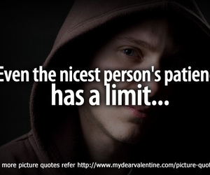 limit, quote, and patience image