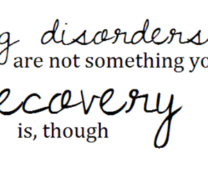 anorexia, recovery, and true image