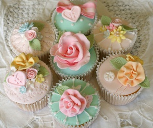 cupcake, cute, and sweet image