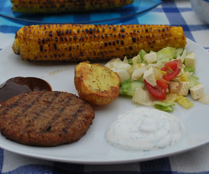 barbecue, berlin, and eat image