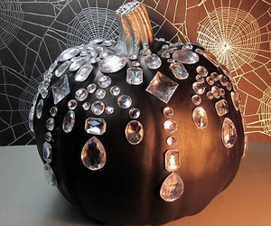 pumpkin, black, and Halloween image