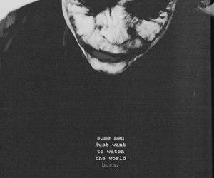 joker, batman, and burn image