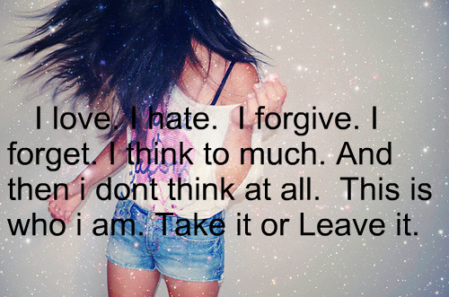 girl, girls, girly, quote, quotes - inspiring picture on ...