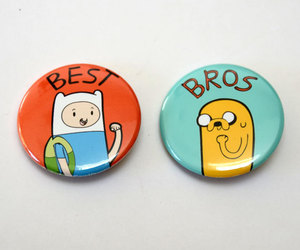 button, best bros, and atventure time image