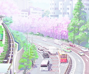 anime, beautiful, and scenery image