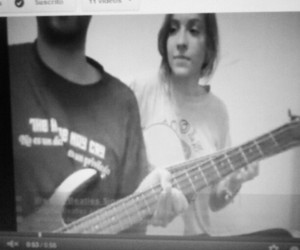 bass, couple, and song image